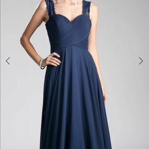 Cinderella navy blue evening dress size 8